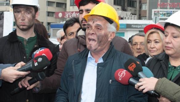 Madencileri andılar