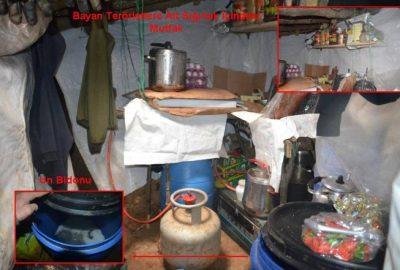 PKK'lılara ait depo ve sığınak ele geçirildi