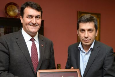 Kardeş şehir Çayır'dan Osmangazi'ye ziyaret