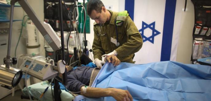 Muhaliflere İsrail yardımı