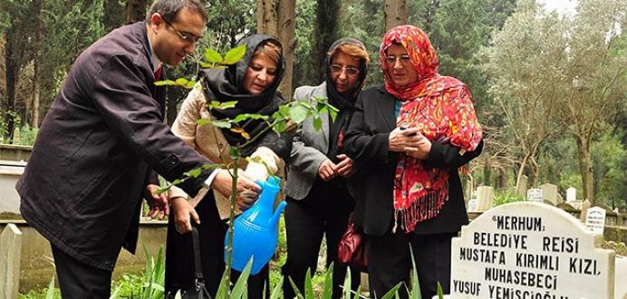Bursa'nın ilk ve tek kadın belediye başkanı unutulmadı