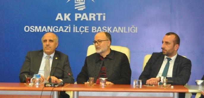 Yıldırım'dan Osmangazi yönetimine destek