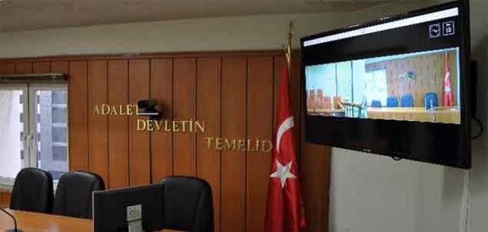 Türkiye'den Almanya'ya görüntülü yargılama