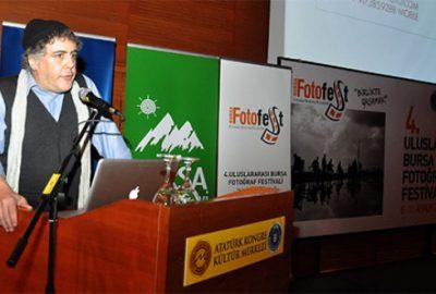 Ünlü savaş muhabiri BursaFotoFest'te