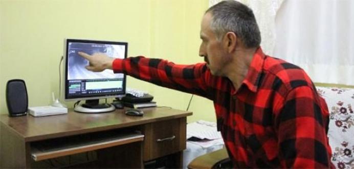 Mudurnu'da UFO iddiası