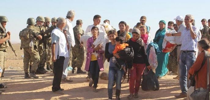 Kobani'den 192 bin kişi kaçtı