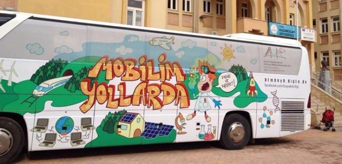 'Mobilim Yollarda' otobüsü Bursa'ya geliyor