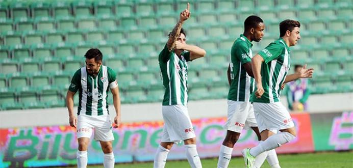 Bursaspor 3 puana odaklandı!