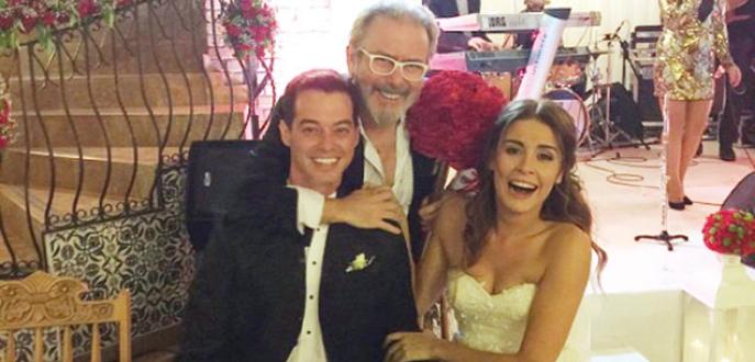 Alp Kırşan evlendi