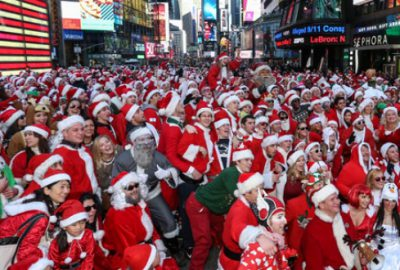 Noel Babalar ünlü meydanda