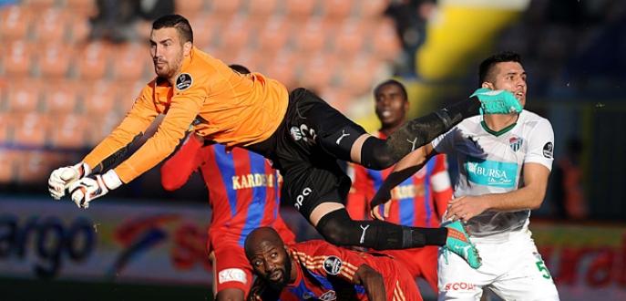 Bursaspor'da seri sona erdi