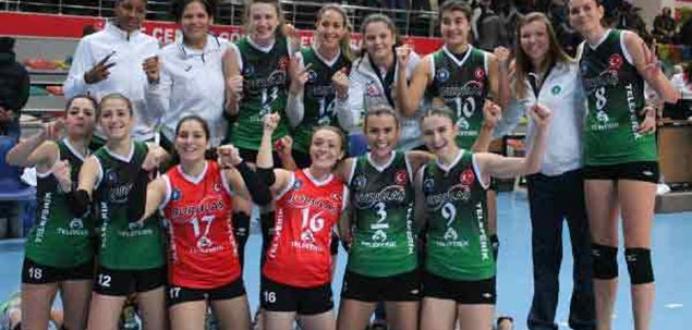 Bursa Büyükşehir Belediyespor-SK UP Olomouc: 3-0