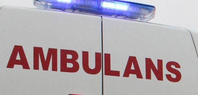 Ambulansın ön tekeri fırladı: 1 ölü, 2 yaralı