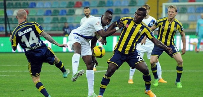 Fenerbahçe deplasmanda galip