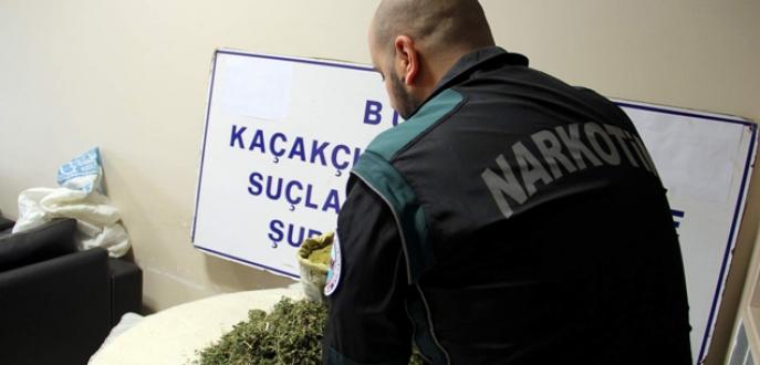 Bursa'da narkotimden başarılı operasyon