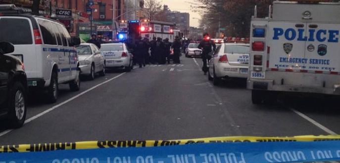 ABD'de polise saldırı