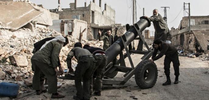 IŞİD'den yığınak