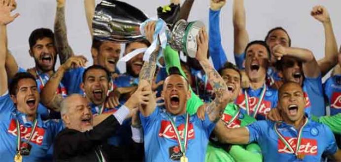 İtalya Süper Kupası Napoli'nin