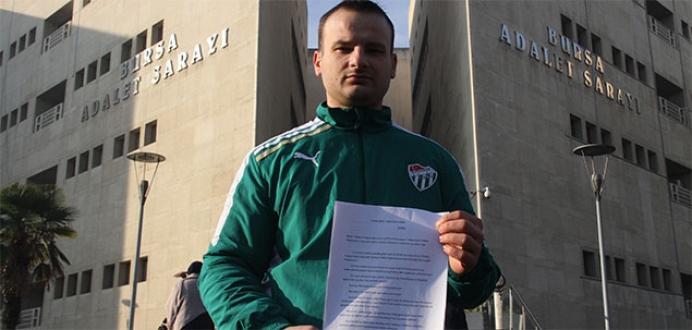 Hakeme '3 puanı çaldı' diye suç duyurusunda bulundu
