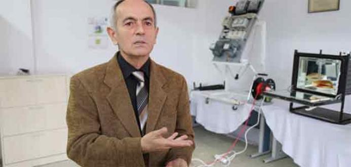 Fındık kurutma cihazı yaparken 'optik fırın' geliştirdi