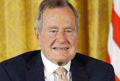 George Bush yine hastaneye kaldırıldı