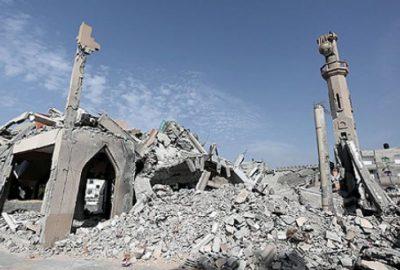 Gazze'de yıkılan camilerin yerine yenileri yapılacak