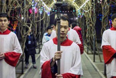 Çin'de Noel yasağı