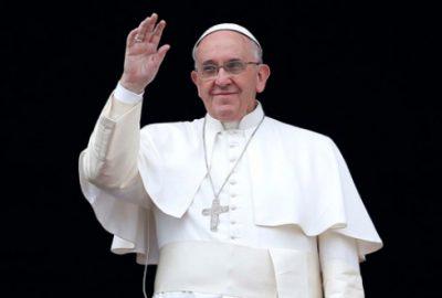 Papa'dan barış mesajı
