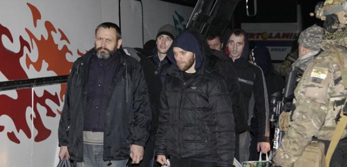 Ukrayna'da rehine takası