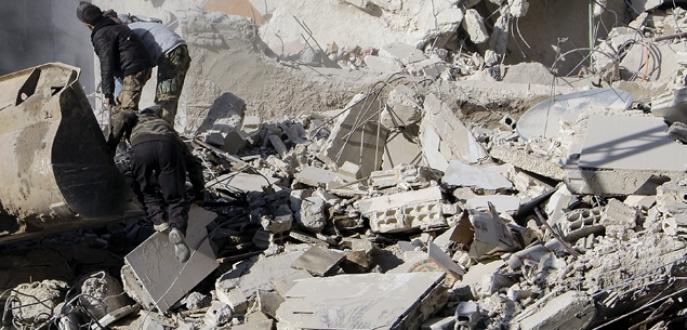 Suriye ordusundan 'vakum bombası'
