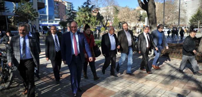 Acil projelere Büyükşehir eli