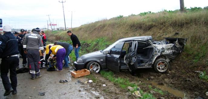 İzin yolunda feci kaza: 4 asker yaralı