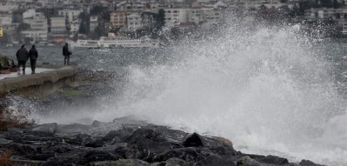 İstanbul'da 1 kadını dalga yuttu