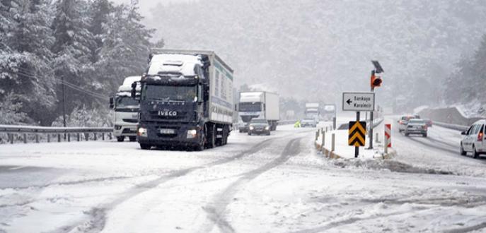 Meteoroloji'den 15 ile yoğun kar yağışı uyarısı