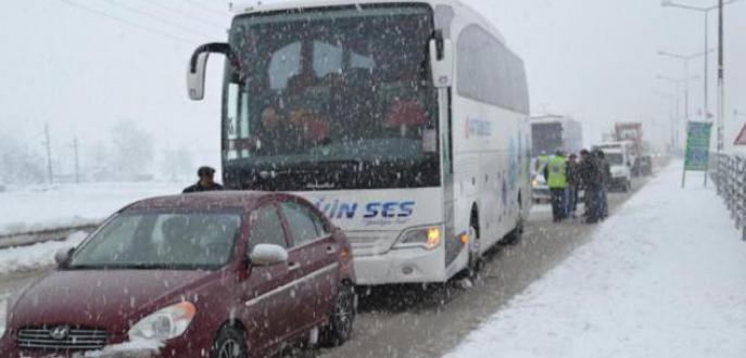 Bursa-Ankara karayolu yine kapandı