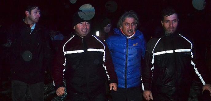 Çanakkale'de 2 işçi donmak üzereyken kurtarıldı