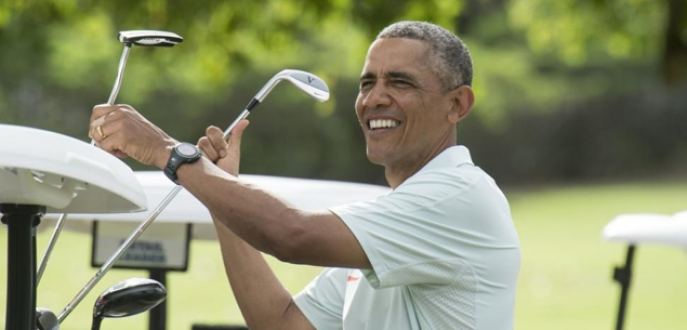 Obama'dan golf özrü