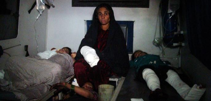 Afgan ordusu düğün alayını vurdu