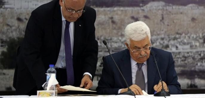 Filistin, İsaril'i şikayet edecek
