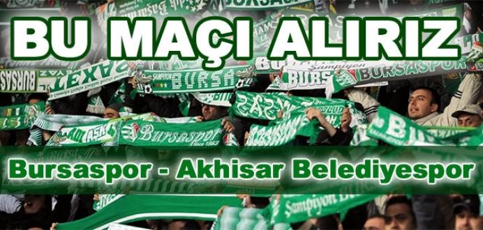 Bursaspor'un konuğu Akhisar Belediyespor