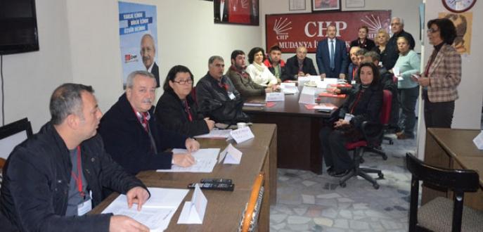 CHP'de parti içi eğitimlere devam