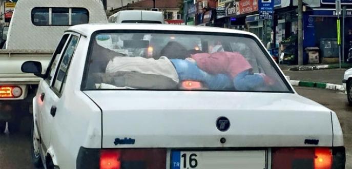 Bursa'da 'bu kadar da olmaz' dedirten yolculuk