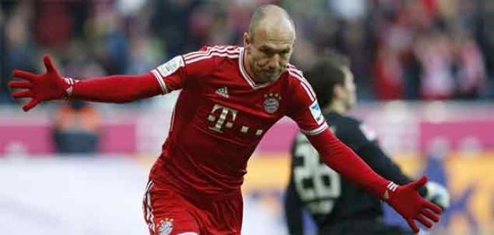 Robben, Bundesliga'nın en iyi futbolcusu seçildi