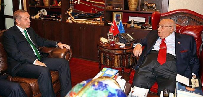 Cumhurbaşkanı Erdoğan'dan Demirel'e ziyaret!