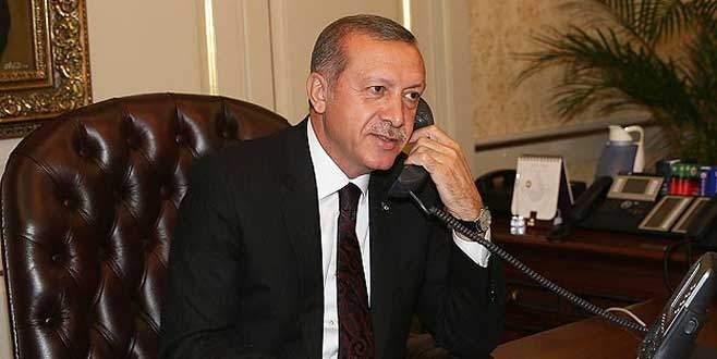 Erdoğan kurtarılan astsubayın eşini aradı