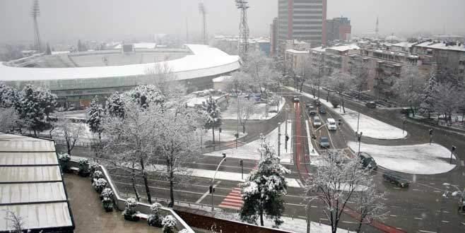 Kar Bursa'yı esir aldı!