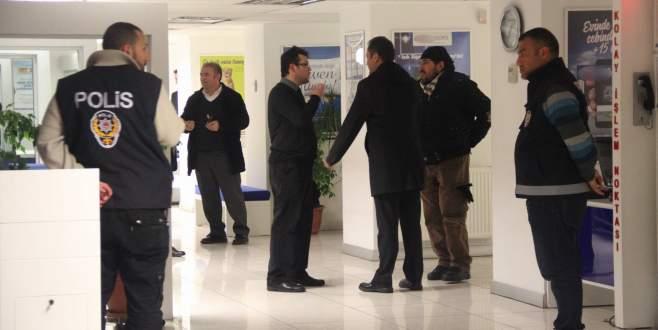 Bankaya usulsüzlük iddiası baskını