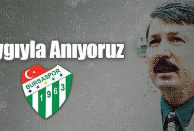Bursaspor eski başkanını unutmadı