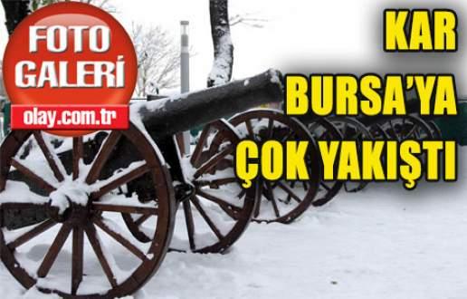 Kar, Bursa'ya çok yakıştı