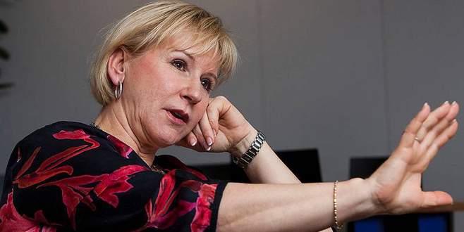 İsveç Dışişleri Bakanı İsrail gezisini iptal etti
